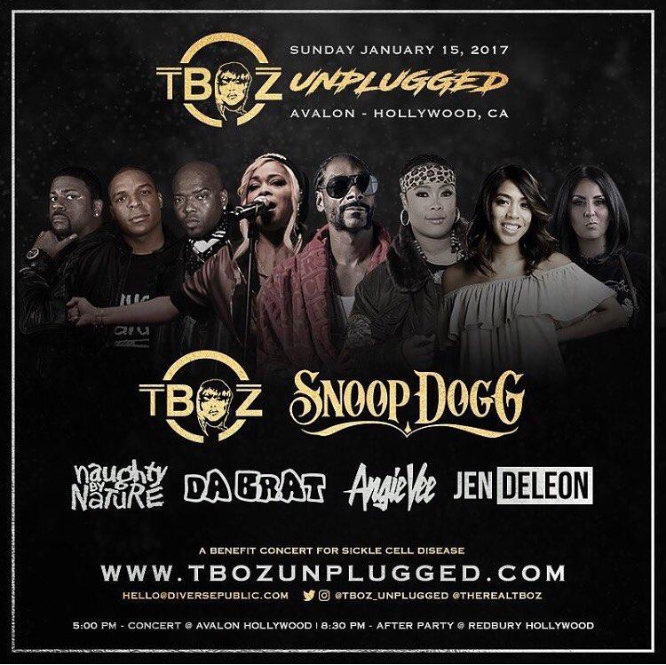 T-Boz Unplugged: T-Boz, Snoop Dogg, Naughty by Nature, Da Brat