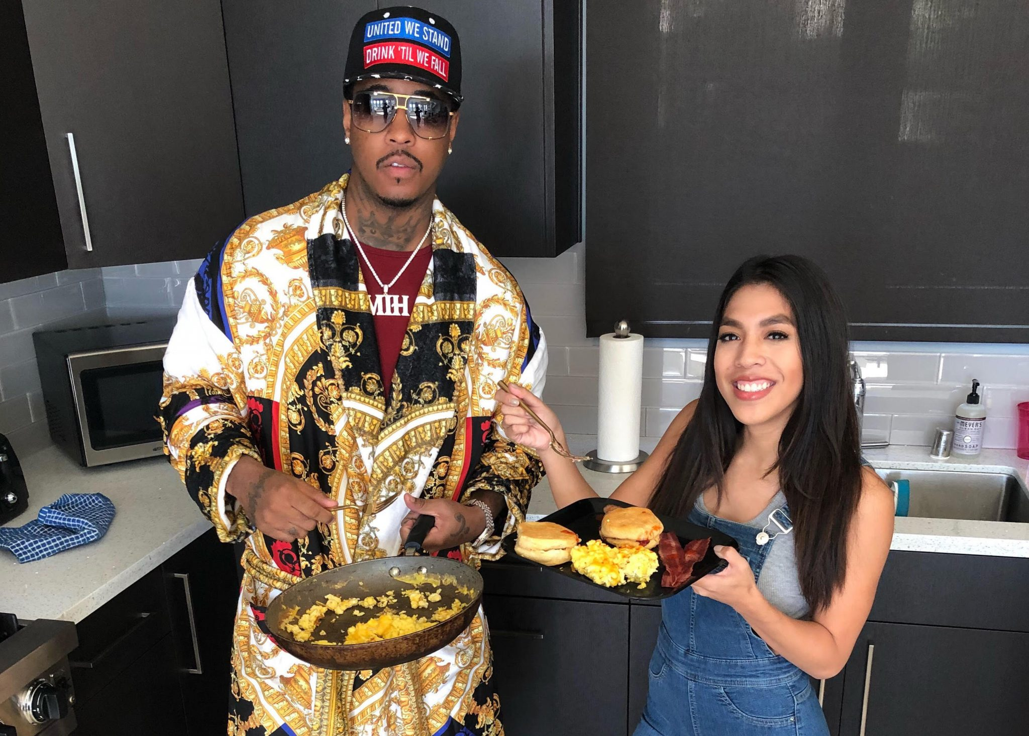 Cooking Breakfast with Jeremih