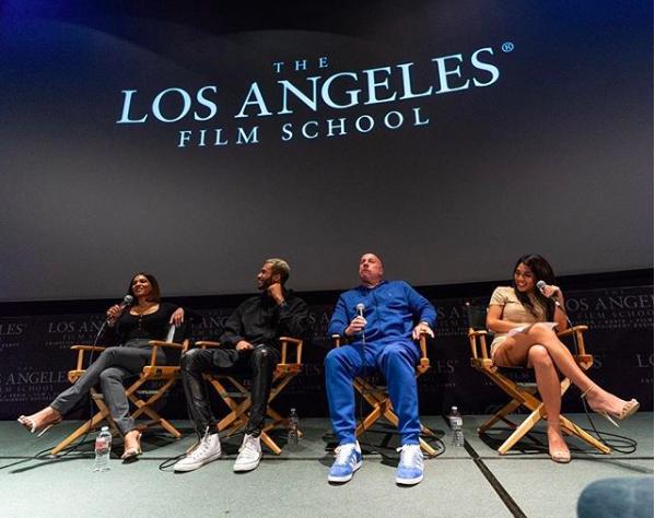 Speaking at The Los Angeles Film School