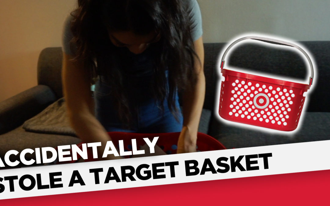 Accidentally Stole A Target Basket