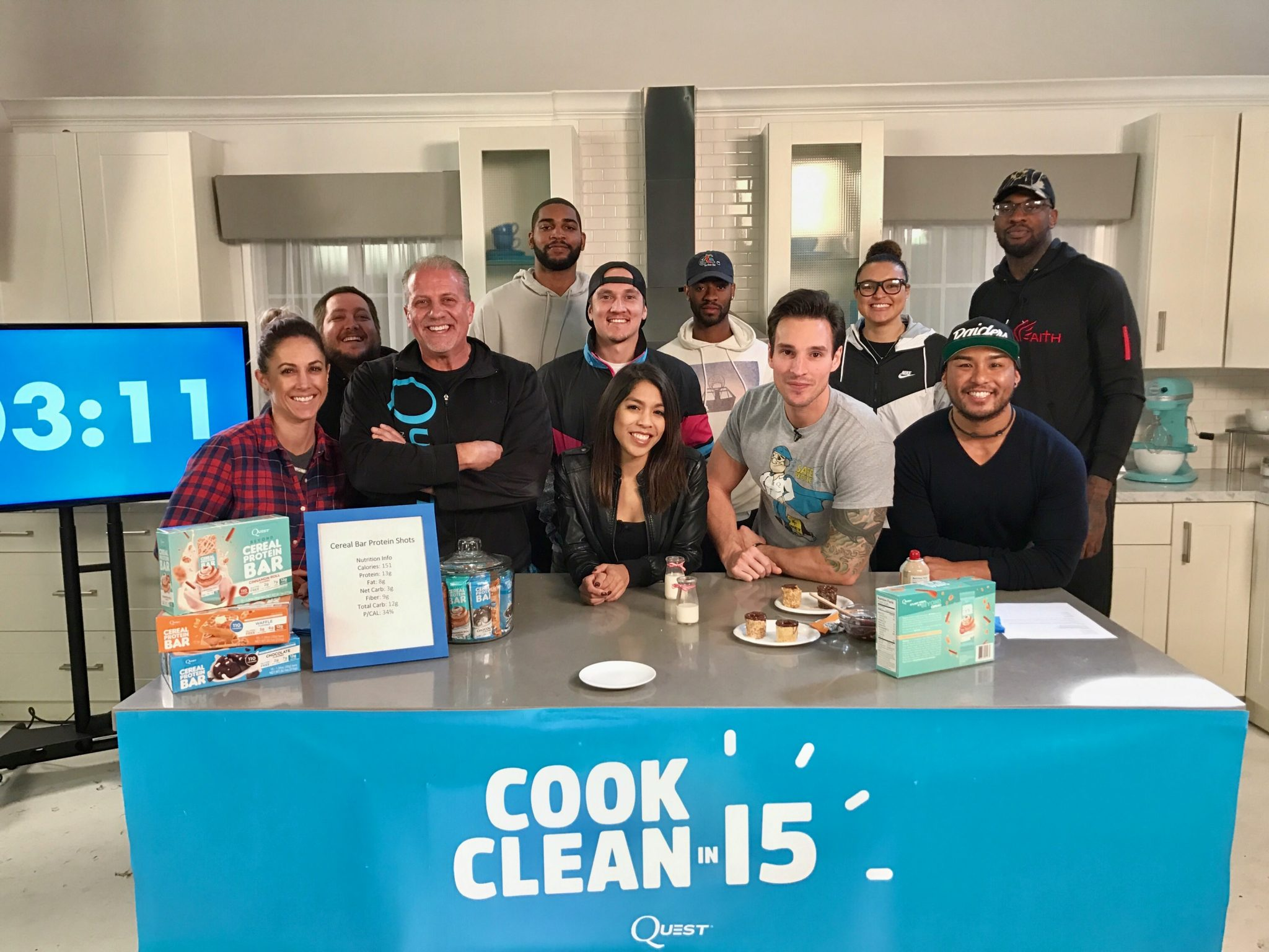 Cook Clean in 15 with Quest Nutrition