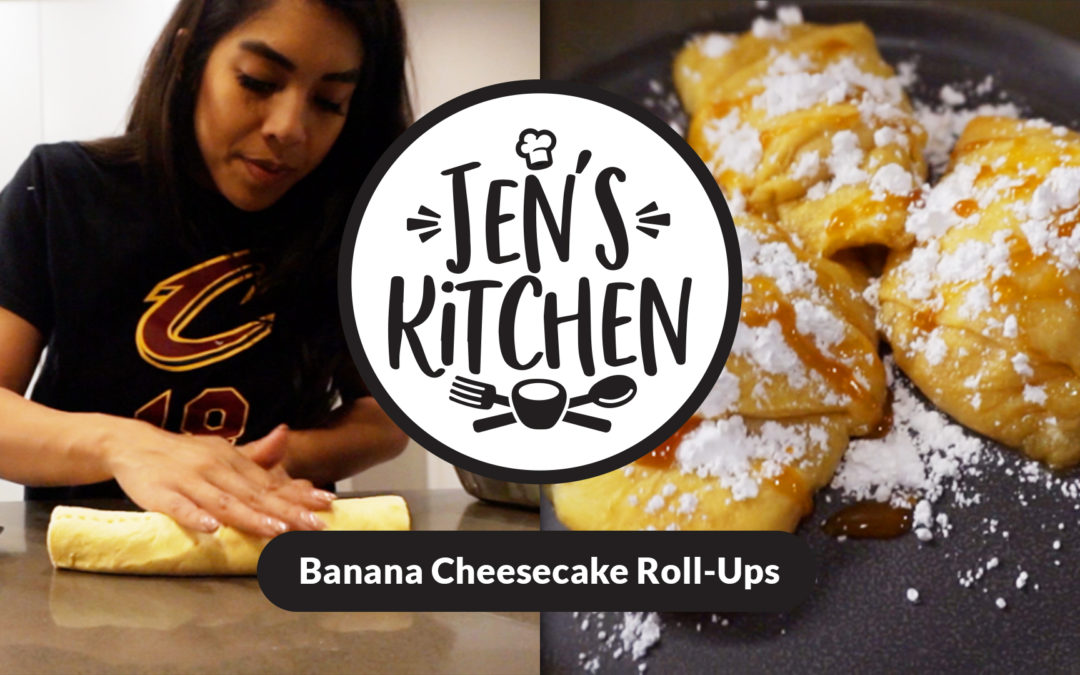 Jen's Kitchen: Banana Cheesecake Roll-UPS